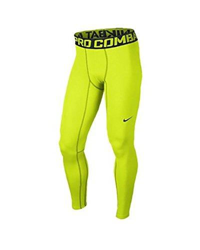 Nike Pro Hyperwarm Compression Lite Collant Homme Orange/noir