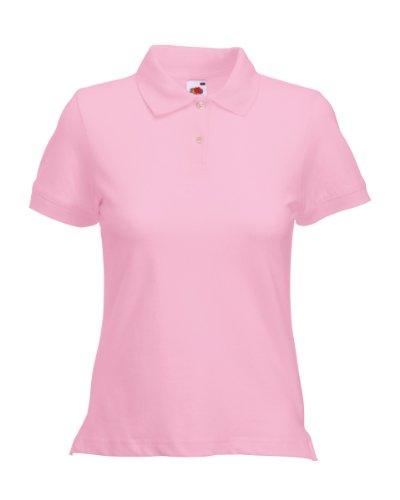 Fruit of The Loom Lot de 3pour Femmes/Femmes Fin à Golf Sports Workwear décontracté piqué Polo...