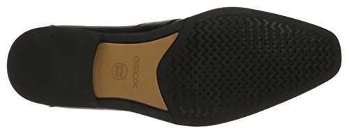 Geox U New Life A, Mocassini Uomo Nero (Black)