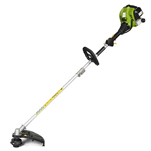 GYMAX. 25cc Petrol Multi Garden Tool, 4-in-1 Functional Tool Set- Hedge Trimmer, Grass Trimmer, Brush Cutter, Pruner, Air-Cooled 2-Stroke Petrol System Features Extension Pole