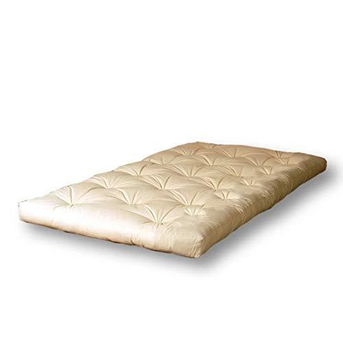 Cinius futon superior 120x200 (materasso piazza e mezzo), latex+cotone (h13cm circa), 120 x 200 cm
