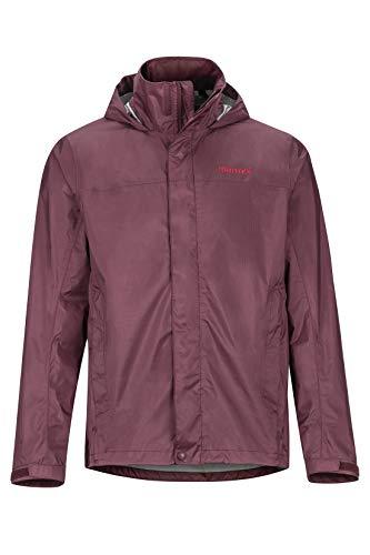 Marmot Herren PreCip Eco Jacket Hardshell Regenjacke, Violett (Burgundy), XXL -