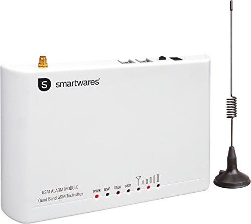 Smartwares Universal PSTN an GSM Modul für HA68S, HA700+ & HIS20S Alarmsystem SA125, White Gsm-modul