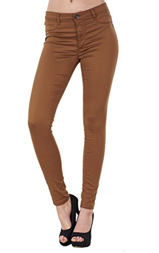 BHS Ladies Stretch Denim Look Womens Skinny Leggings Cotton Slim Jeggings