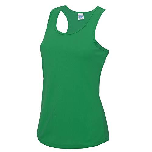 Girlie Cool Vest in Kelly Green Größe: S