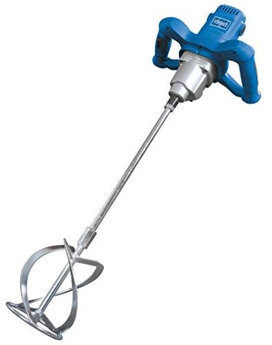 Scheppach Rührwerk PM1600 (Handrührwerk, 1600 Watt, Stablänge: 550mm, Rührkorb-Ø: 140mm, Drehzahlregulierung, 2-Gang-Getriebe, ergonomisch, Rühreraufnahme: M14)