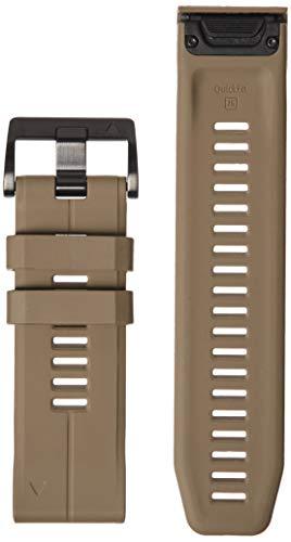 Garmin 010-12741-04 Quickfit 26 Uhrenarmband - Solar Flare Orange Silikon - Zubehör Band für Fenix 5X Plus/Fenix 5X