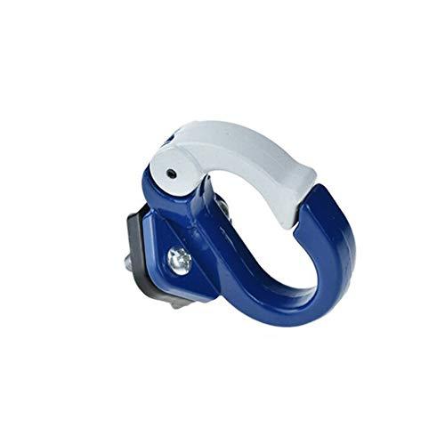 Scooter Tasche Haken,Vorderhaken Aufhänger Helm Taschen Klaue Gadget für Xiaomi Mijia M365 Elektroroller Skateboard Werkzeuge Flasche Gepäck GepäckträgerTasche Haken Werkzeuge (Blue)