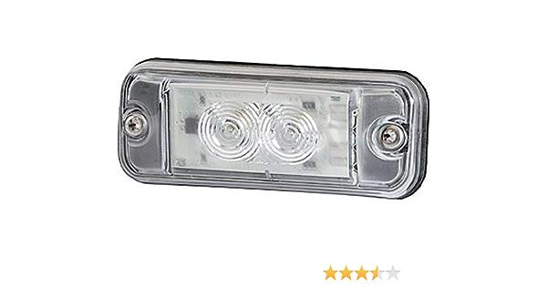 Hella 2pf 009 514 011 Positionsleuchte Led 24v Einbau Lichtscheibenfarbe Glasklar Auto