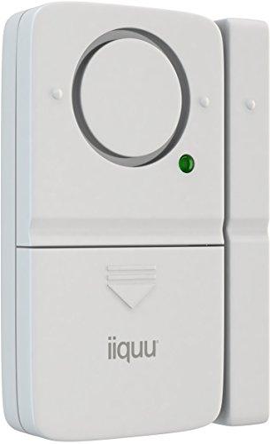 iiquu Home Safety Mini Tür- und Fenster-Alarm, 510ILSAA004 (Tür Kontakt Alarm)