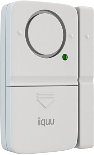 iiquu Home Safety Mini Tür- und Fenster-Alarm, 510ILSAA004