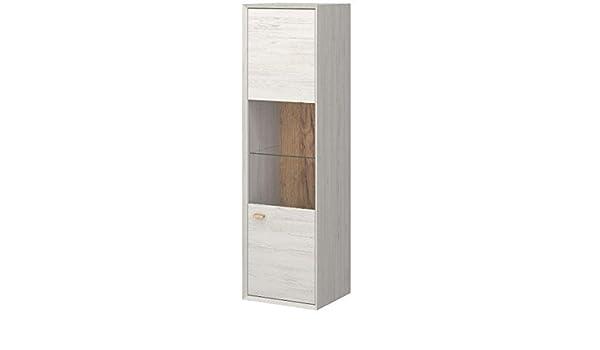 Hängeel Küche hängevitrine hängeelement hängeschrank vitrine wohnzimmer weiß