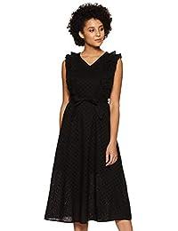Van Heusen Woman Cotton a-line Dress