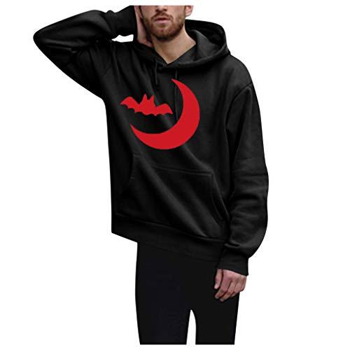yazidan Herren 3D Druck Kapuzenpullover Hoodie Pullover Sweatjacke Sweatshirt Weihnachten Halloween (Übergröße Seemann Kostüm)