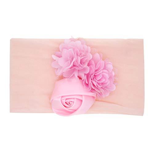 AMUSTER Baby Kinder Haarband Mädchen Stirnband Kopfband Blumen Blüte Haarschmuck Headband Hairband Babygeschenke Taufe Geschenksets (Diy Stirnband Kit)