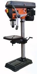 Feider Feidwood - Perceuse sur colonne Triphasee 2CV 1500W 40mm autosserant etau 150mm