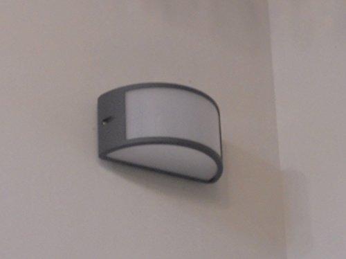 Lampade Da Esterno Moderno Da Parete : Applique lampada da parete per esterno moderno illuminazione