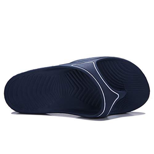 Quaan Paar Herren Sommer Strand atmungsaktive Sandalen männliche Pantoffel Flipflops Flache Schuhe