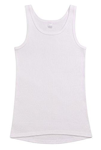 AMMANN ISCO Doppelripp Herrenwäsche 2er-Pack, Unterhemd, Weiß, Art. 226-111 Weiß