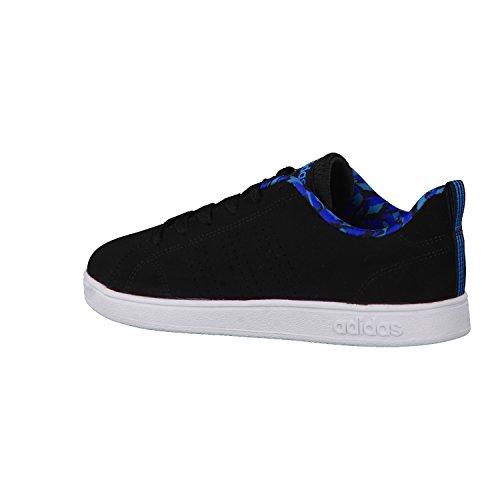 adidas  Vs Advantage Clean K, chaussure de sport Unisexe - enfant core black/core black/solar blue2 s14