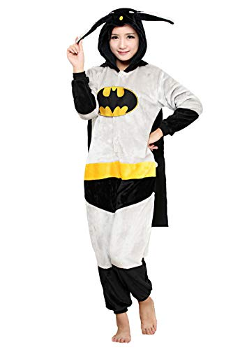 Fancyland Stitch Kostüm,Jumpsuit Tier Cartoon Fasching Halloween Kostüm-Anzug Onesie Fleece-Overall Pyjama