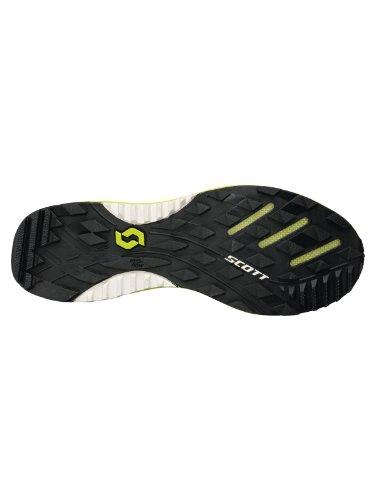 Scott scarpa da corsa uomo eRide Grip 3.0 black/green Nero/Verde