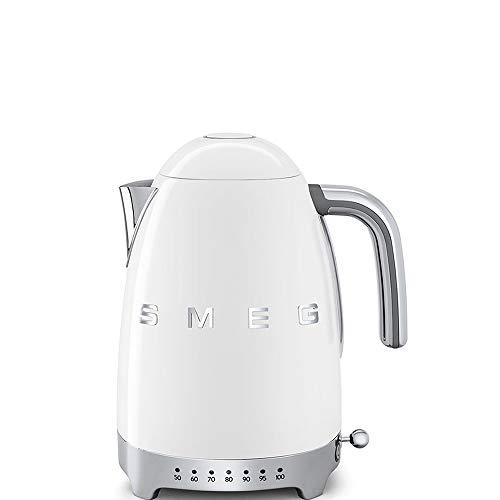 SMEG KLF04WHEU Wasserkocher, 2400, 1.7 liters, weiß