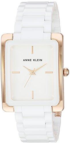 Anne Klein Women's AK-2952WTRG Gold Ceramic Japanese Quartz Fashion Watch