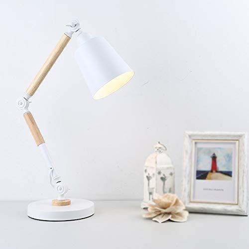 ZMXAN Led Augenschutz Tischlampe Einfache Kreative Dekorative Tischlampe Schlafzimmer Wohnzimmer BüRo Zu Hause,White - White-box-laptops