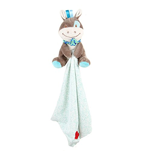 INCHANT Baby-Sicherheits-Decke - Kinder seidig weich Fleece Werfen Plüsch Sicherheit Blankie, Plushy Sicherheit Blankie Spielzeug Bestes Geschenk für Kleinkind