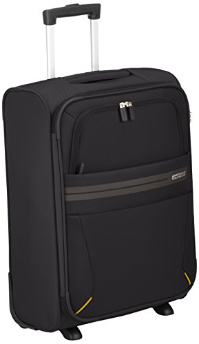 American Tourister Summer Voyager Upright Equipaje de Mano, 55 cm, 38.5 Litros, Color Negro