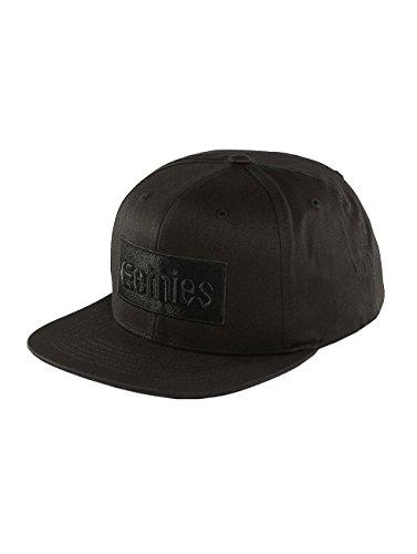 Etnies Snapback Cap Corp Box Schwarz