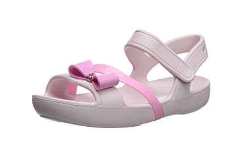 Crocs Unisex Kids Lina Charm Sandal K Heels, Pink (Barely Pink), 9 UK Child 25/26 EU