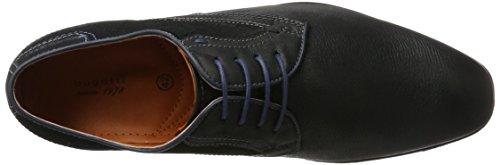 Bugatti 311101133030, Chaussures À Lacets Pour Homme Noir (noir / Noir)