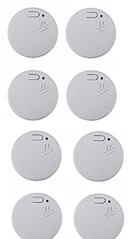 High Quality Safety Photoelectric Smoke Alarm Smoke Detector Battery Operated
