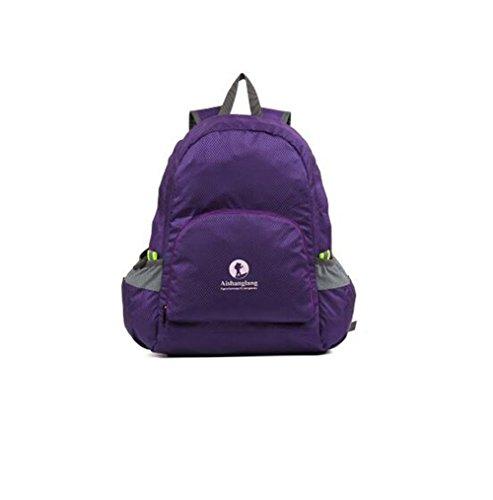 Wmshpeds Borsa di pelle la moda casual borsa a tracolla Borsa pieghevole borsa da viaggio ultra-light in borsa G