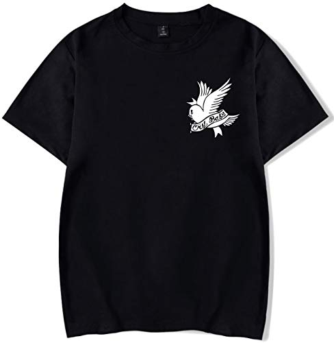 SERAPHY Camiseta Unisex R.I.P Lil Peep Cry Baby Rapper Hip Hop Spring  Camiseta para Hombre Harajuku 88027334057