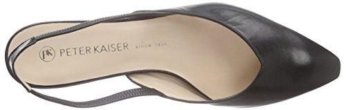 Peter KaiserCARSTA - Scarpe con Cinturino alla Caviglia Donna Nero (Schwarz (SCHWARZ CHEVRO 100))