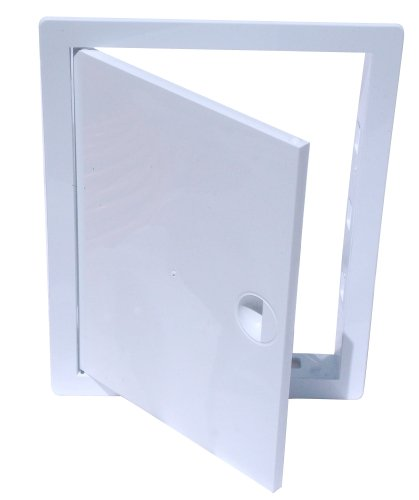 Revisionsklappe Revisionstür Revision Kunststoff weiß (10 cm x 10 cm) Hardi
