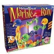 Marble Run - Juego de circuito con canicas (70 piezas)