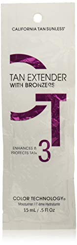 California Tan Extender with Bronzers, 0.5 Ounce