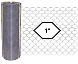 50 Meters of Chicken Wire 1200x25x50meters FREE STAPLES - 4 feet high wire netting 22G