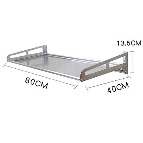 küchengestell mikrowelle wandhalterung 1 Schicht wandhalterung backofen gewürz lagerung Regal ()