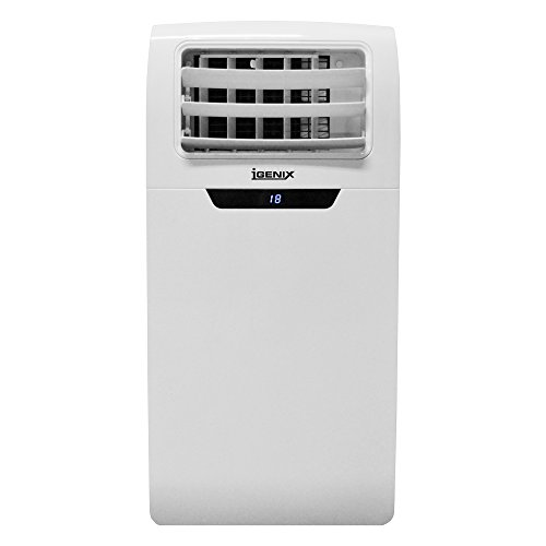 318yYc7 c3L. SS500  - Igenix IG9901 3-in-1 Portable Air Conditioner with Cooling, Fan and Dehumidifier Function, 3 Fan Speeds with Sleep Mode, Remote Control and 24 Hour Programmable Timer, 9000 BTU, White
