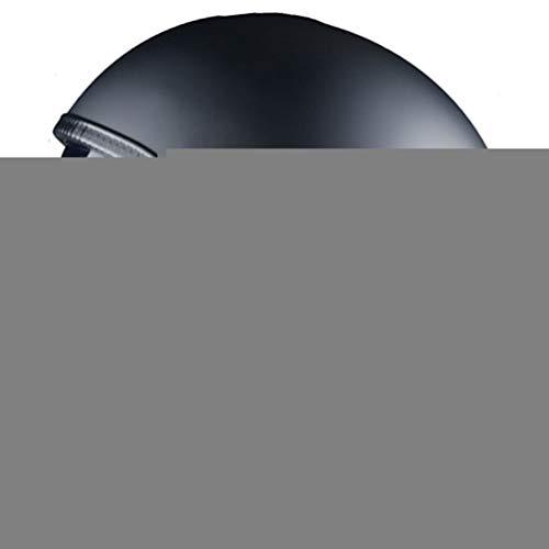 Adulto retrò in pelle pilota moto casco elegante morbido comfort elettrico tappi di sicurezza del motociclo Unisex anti caduta anti crash downhill stagioni universale Harley casco 55-64cm