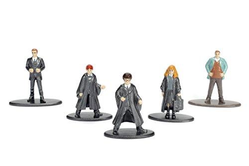 Jada – Nano Metalfig Harry Potter 5 Paquete: 1 (año de arría 1, año de Primera, año de Hermione 1, Percy, Arthur) 2