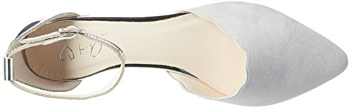 Another Pair of Shoes Blaire1, Ballerine Donna Grigio (Light Grey/silver1882)