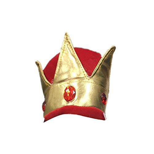 ut-Hundekronen-Entwurfs-Hut für das Haustier-Geburtstags-Partyspiel im Freien eine Größe ()