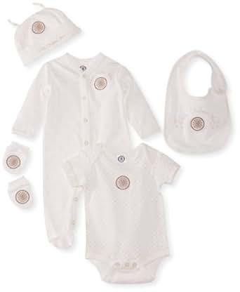 Brecrest Babywear Chelsea FC CH183 5pc Gift Set Cream 0-3 Months
