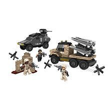 True Heroes Exclusive Mega Bloks Set Army Missile Battle by Mega Brands